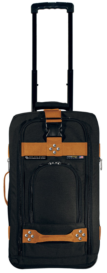 club glove carry on bag handgep ck trolley mit rollen walkgolf selection. Black Bedroom Furniture Sets. Home Design Ideas