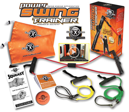 Golf Gym Power Swing Trainer Master Package