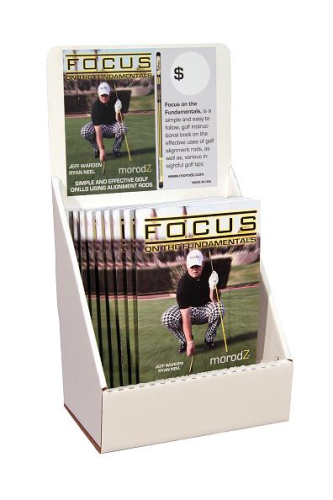 Morodz Golf Alignment Aid & More - Alignment Sticks Trainings Book